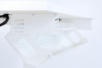Kabelwanne 120 cm breit für Tischgestell Standup
