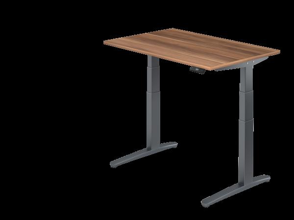 Sitz-Steh-Schreibtisch 120x80 von Hammerbacher