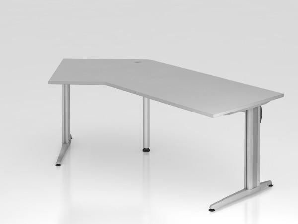"""Schreibtisch 210x113 """"XS Serie"""" von Hammerbacher"""