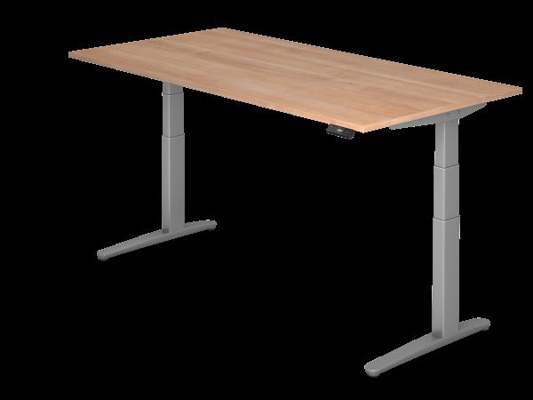 Sitz-Steh-Schreibtisch 200x100 von Hammerbacher