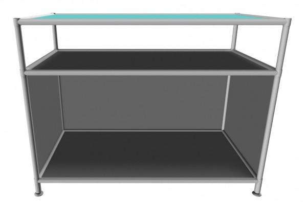 System4 Sideboard mit offenem Fach von viasit