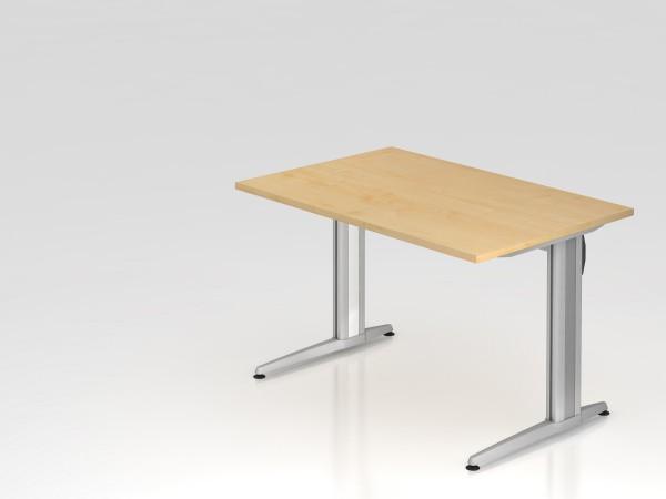 """Schreibtisch 120x80 """"XS Serie"""" von Hammerbacher"""