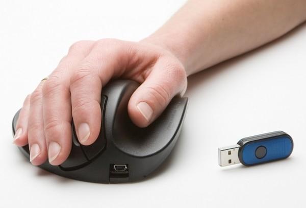 """HandShoe Mouse """"wireless"""" von Ergotrading"""