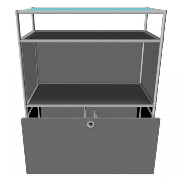 System4 Sideboard mit Hängeregisterfach von viasit
