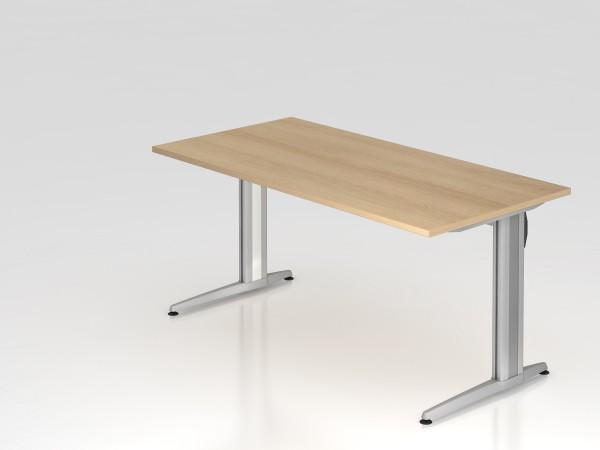 """Schreibtisch 160x80 """"XS Serie"""" von Hammerbacher"""
