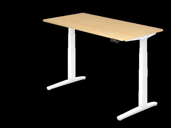 Sitz-Steh-Schreibtisch 160x80 von Hammerbacher