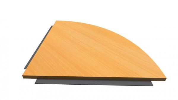 Verkettungsplatte 80x80 cm für H und Q-Serie von Hammerbacher