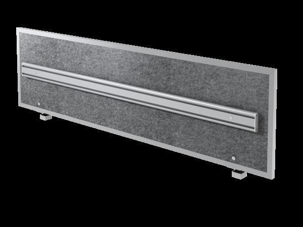 Akustik-ORGAwand, grau-meliert