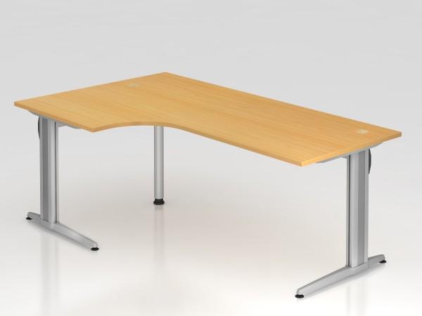 """Schreibtisch 200x120 """"XS Serie"""" von Hammerbacher"""
