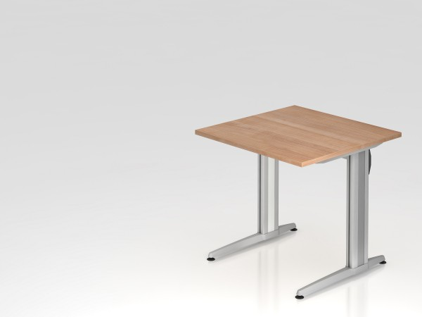 """Schreibtisch 80x80 """"XS Serie"""" von Hammerbacher"""