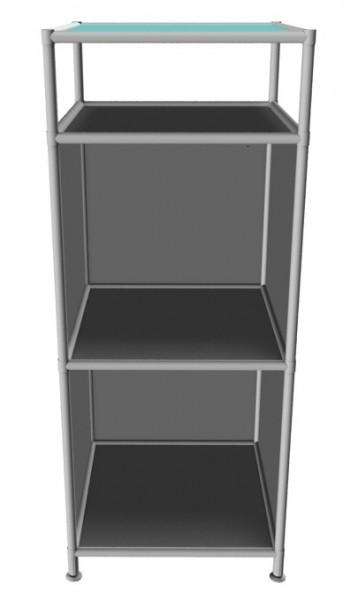 System4 Sideboard schmal offen von viasit